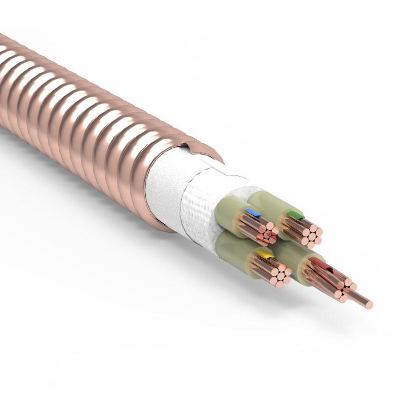 YTTW轧纹铜护套矿物德赢ac米兰区域官方合作伙伴柔性防火电缆